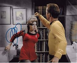 Kim Darby Signed 8x10 Photo - Star Trek - Depicted With William Shatner H75
