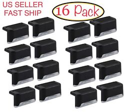 16 Pack Solar Powered Led Deck Lights Outdoor Path Garden Stairs Step Fence