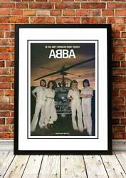 Abba | Swedish Rock Band Concert Gig Tour Posters | 6 To Choose From.