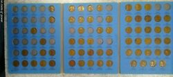 63 Coin Set 1909-1940 Lincoln Wheat Penny Cent - Early Dates Collection  269