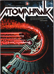 Image Comics Atomahawk 0 Nycc Red Foil Variant Donny Cates Ltd To 500