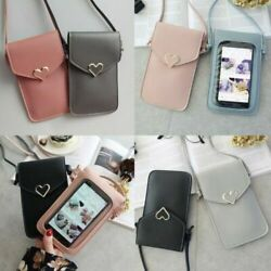 US Women Touch Screen Cross body Cell Phone Case Shoulder Bag Pouch Purse Wallet $7.69