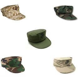 Marine Corps 8-point Covers - Usmc Utility Hats - Govand039t Issue - Made In Usa -new