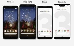 Google Pixel 3a 3a Xl 3 3 Xl 64gb / 128gb T-mobile Or Gsm Unlocked Smartphone