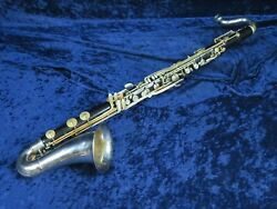 Buffet Academy Wood Bass Clarinet Ser20261 Just Back From The Shop Plays Great