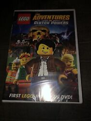 LEGO: The Adventures of Clutch Powers DVD 2010 B3 $4.99