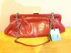 New HOBO Red Leather Purse NWT $49.95
