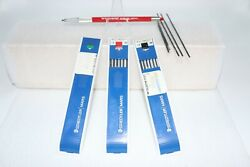 Vintage Teledyne Post 38 Mg-010 2.0mm Drafting Pencil With Assorted Leads