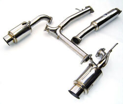 Invidia N1 Dual Y-pipe Back Exhaust System - Nissan 350z Z33 Vq35 Uk Stainless
