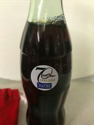 Coca Cola Bottle Very Rare 70 Years Nacds 1933-2003 Book Value 700+++