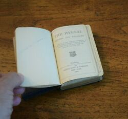 Antique 1889 Pocket Hymnal Bible Oxford Usa James Pott And Co. 19th Century Book
