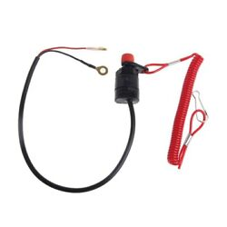 Boat Outboard Engine Motor Stop Safety Kill Switch Andtether Cord Lanyard S