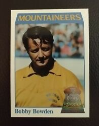 Coach Bobby Bowden 1970-75 Wv Mountaineers 1991 100yr Anniversary Comp Set 1-50