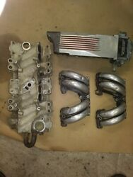 1987 Corvette Tuned Port Injection Intake Manifold Assy. W/ Ecu And Distributor