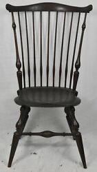 Wallace Nutting Fan Back Windsor Chair Bench Made