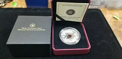 Silver - Dragon 2009 8 Maple Of Wisdom Coin Crystal And039limited Editionand039