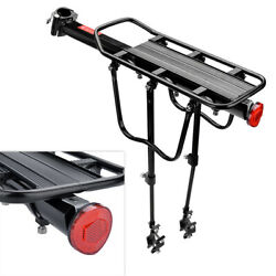 Rear Bicycle Rack Cargo Rack Quick Release Alloy Carrier 110 Lb Capacity New $24.89