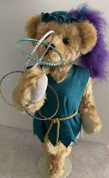 Collectible Teddy Bear By Enchanted Bears Artist Sharon Lapointe 1992 11/25