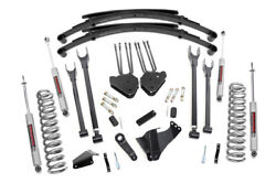 Rough Country Ford F250 F350 8 4-link Susp Lift W/leaf Springs 05-07 4wd Diesel