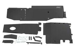Rough Country Engine T Case Gas Tank Skid Plate System Fits 18-20 Jl Unlimited