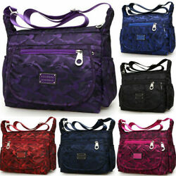 Waterproof Single shoulder Messenger Crossbody Bag Nylon Purse Travel Women Lady $14.95