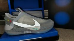 Nike Adapt Bb Air Mag Wolf Grey/silver Menand039s Shoes Ao2582-002 Size 15