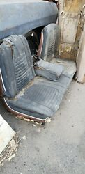 1966 67 Impala Buick Olds Pont Strato Bench Seat W Power Seat
