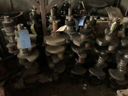 Crankshaft From 232 Studebaker. Pic Shows Many. Each Sold Separately.used