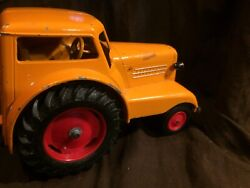 1938 Minneapolis Moline Udlx Comfortractor Tractor/car Die Cast Toy Vehicle Cool
