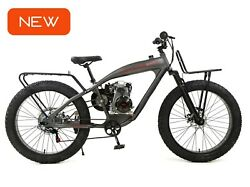 Phatmoto All-terrain Fat Tire 2021 - 79cc Motorized Bicycle
