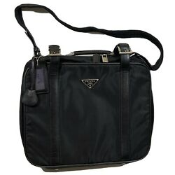 Prada Unisex Overnight Bag—brand New In Box With Tags And Dust Bag