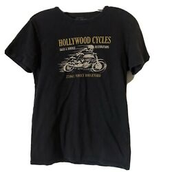 Lucky brand Hollywood motorcycle Venice California graphic TShirt small $11.99