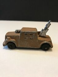 """Vintage Pre Wwii Barclay Military Artillery Aircraft 3"""" 1940s Collectible"""