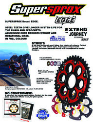 525 X-ring Chain Front Rear Stealth Sprocket Kit Fit Ducati 796 Hypermotard 2012