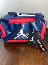 Nwt Nike Insulated Lunch Storage Bag Air Jorden Red White Blue