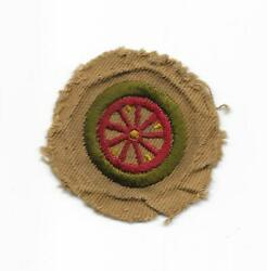 1912 Ah1 Automobiling 16 Issued Teen Merit Badge Type Aa Boy Scout Of America