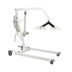 New Heavy Duty Bariatric Electric Patient Lift/hoyer Lift W/2 Free Slings