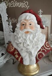 Clayre Eef Santa Claus Deco Christmas Decorations Shabby Vintage Country House