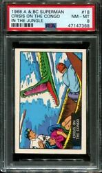 1968 A And Bc Superman In The Jungle 18 Crisis On Congo Pop 6 Psa 8 N2916428-368