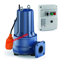 Double Channel Submersible Pump Sewage Water Pmcm 30/50 10m 3hp 240v Pedrollo