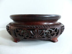 Late 19th Century / Early 20th Century Chinese Wood Stand 3