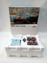 Gmp 1/12th 1969 Gulf Gt40 Mk1 6 Jacky Ickx-jackie Oliver 1969 24 Hrs Lemans