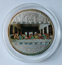 Cook Islands 20 Dollar 2008 Masterpieces Of Art Last Supper 3 Oz Ag №2