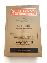 Sullivanand039s Law Directory Illinois Attorneys Directory 2019-2020 Lawyerport Hc