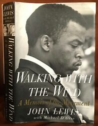 Walking With The Wind By John Lewis Inscribed