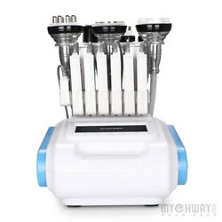 8 In 1 Cavitation Rf Vaccum Cold Led Light Hot Cold Hammer Body Slimming Machine