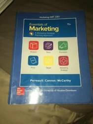 Essentials Of Marketing-a Marketing Strategy Planning Approach - Good