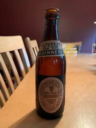 Old Antique Vintage Guinness Foreign Extra Stout Caribbean Beer Bottle