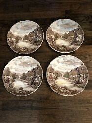 """Johnson Brother Old English Countryside 10"""" Plates"""