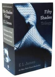 Fifty Shades Trilogy Set Fifty Shades Of Grey Fifty Shades Darker Fifty...